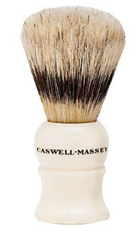 Caswell-Massey Mock Ivory Medium Boar & Badger Shave Brush