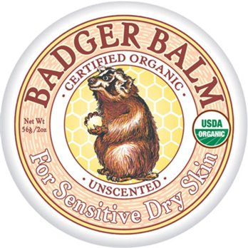 Badger Unscented Healing Balm (2 oz. tin)