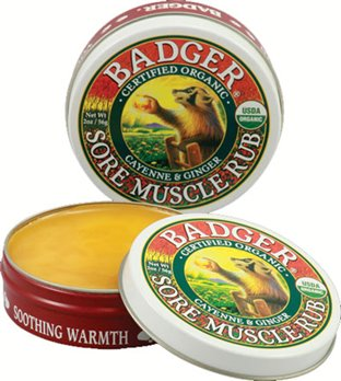 Badger Sore Muscle Rub (.75 oz. tin)