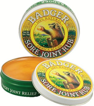 Badger Sore Joint Rub (2 oz. tin)