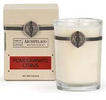 Archipelago Signature Pomegranate Citrus Soy Boxed Candle