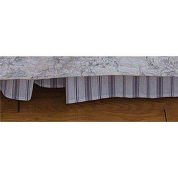 Clementina Cement Queen Bedskirt
