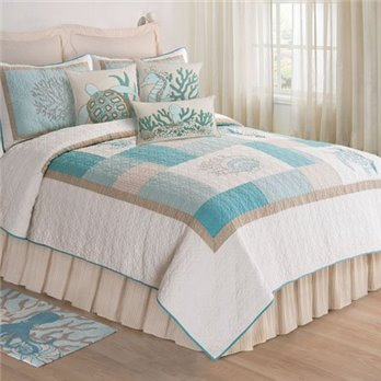 Saltwater Serenity Full Queen Quilt