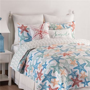 Kalani Full Queen 3 Piece Quilt Set