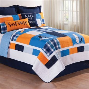 Surfer's Cove Twin Quilt