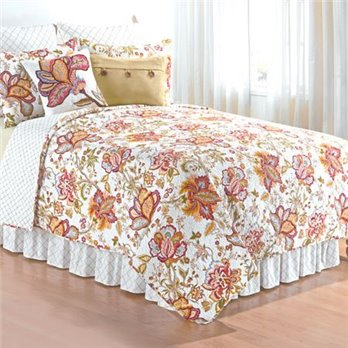 Bethany King 3 Piece Quilt Set