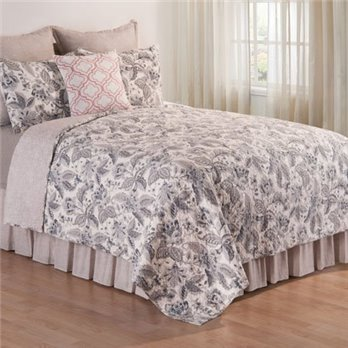 Aurellia King 3 Piece Quilt Set