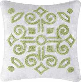 Boxwood Abbey Tufted Pillow