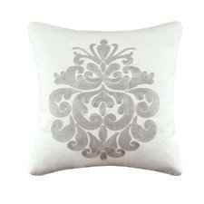Providence Chain Stitch Medallion Pillow