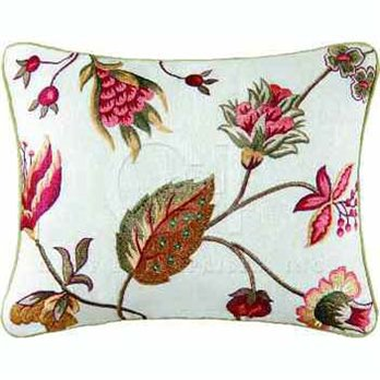 Kingston Embroidered Pillow