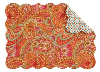 Veda Rectangular Quilted Placemat