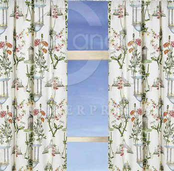 Garden Folly Drapery Panel