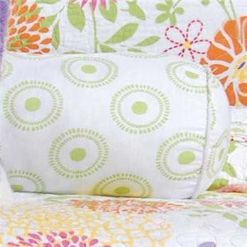 Lilly Circles Neckroll Pillow