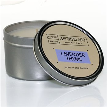 Archipelago Lavender Thyme Tin Candle