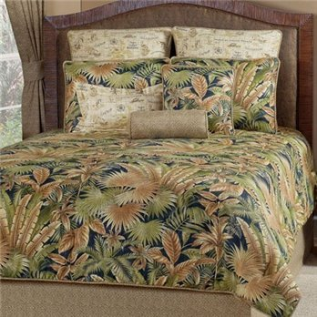 Bahamian Nights Queen size 4 piece Comforter Set