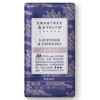 Crabtree & Evelyn Lavender & Espresso Triple Milled Soap