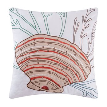 Seabrook Scallop Shell Pillow