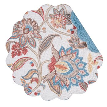 Lucianna Round Quilted Placemat