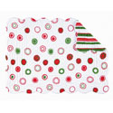 Christmas Bubbles Rectangular Quilted Placemat