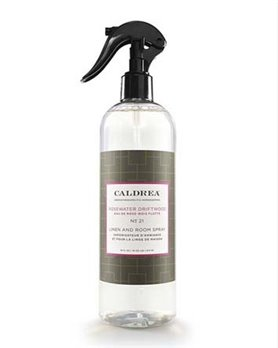 Caldrea Rosewater Driftwood Linen & Room Spray