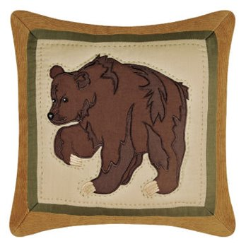 Big Sky Bear Pillow