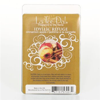 La-Tee-Da Wax Melts Idyllic Refuge - Cinnamon Apple