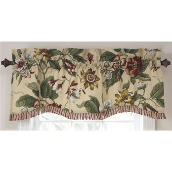Laurel Springs Lined Window Valance