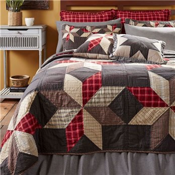 Liberty Stars Luxury King Quilt