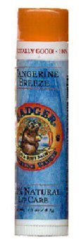 Badger Tangerine Breeze Lip Balm (.15 oz stick)
