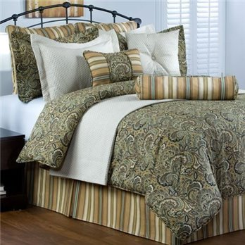 Park Place Queen size 9 piece Comforter Set