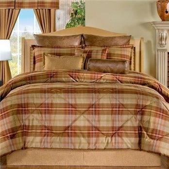 Yukon California King size 10 piece Comforter Set