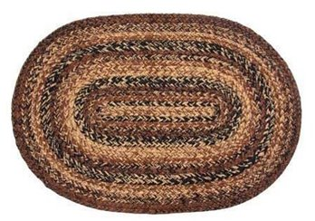 Cappuccino Oval 6 ft X 9 ft Rug