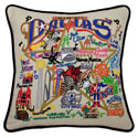 Dallas Embroidered Pillow