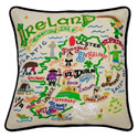 Ireland Embroidered Pillow