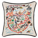 San Francisco Embroidered Pillow