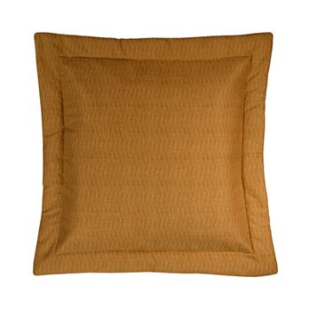 Cayman Golden Grass Cloth Euro Sham