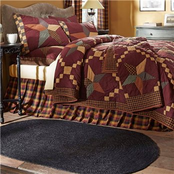 Folkways Star King Quilt