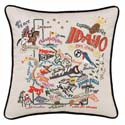 Idaho Embroidered Pillow
