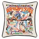 New Mexico Embroidered Pillow