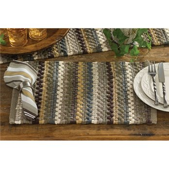 Mineral Stripe Chindi Placemat by Park Designs