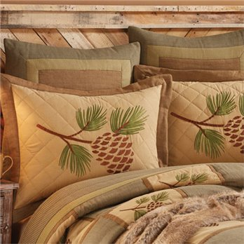 Cabin pillow sham from Park Designs