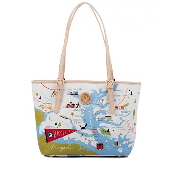 Spartina 449 Bay Dreams Small Tote (with zipper)