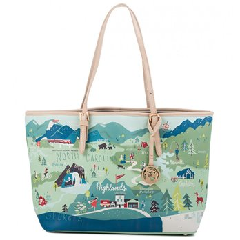 Spartina 449 Blue Ridge Mountains Tote - P. C. Fallon Co.