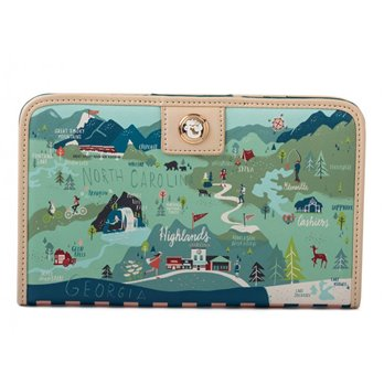 Spartina 449 Greetings from the Blue Ridge Mountains Snap Wallet