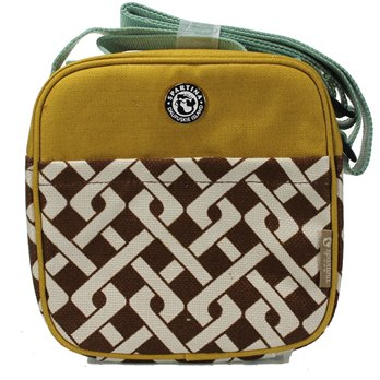 Spartina 449 Lunch Tote - Brown/Madison Geometric