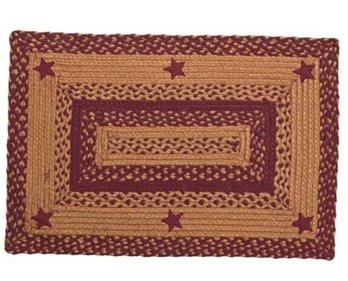 Star Wine 20 X 30 Rug Rectangular