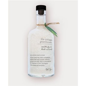 The Cottage Greenhouse Violette Fig & Black Currant Relaxing Bath Soak