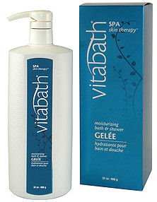 Vitabath Spa Skin Therapy Moisturizing Bath & Shower Gelee (32 oz)