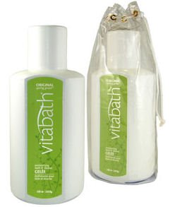 Vitabath Original Spring Green Gallon Size Moisturizing Bath & Shower Gelee (128 oz)