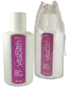 Vitabath Plus for Dry Skin Gallon Size Moisturizing Bath & Shower Gelee (128 oz)